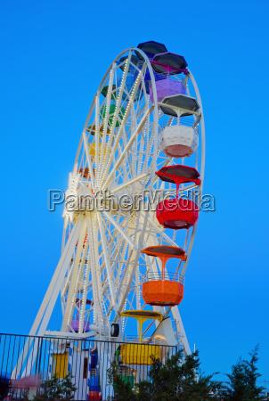 a ferris wheel at a fair