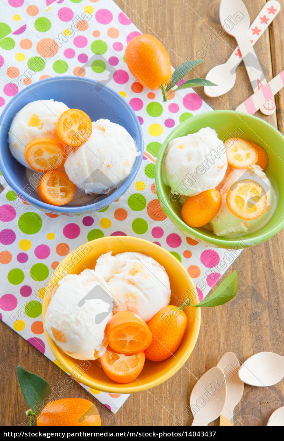 ice, cream, with, kumquats - 14043437