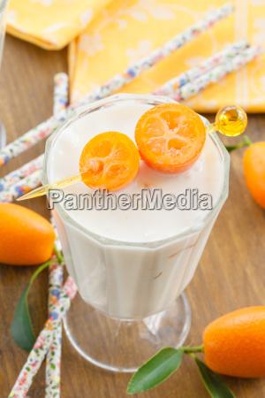 milkshake, with, kumquats - 14043449