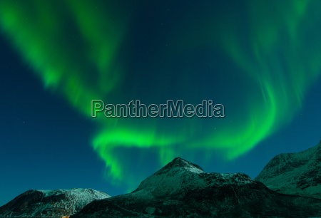 aurora over the grotfjord