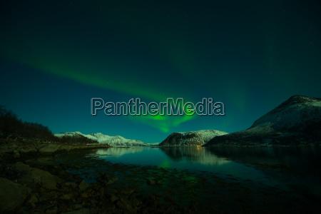 aurora, over, the, grøtfjord, in, norway - 14044043