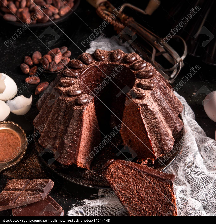 chocolate, cake - 14044143