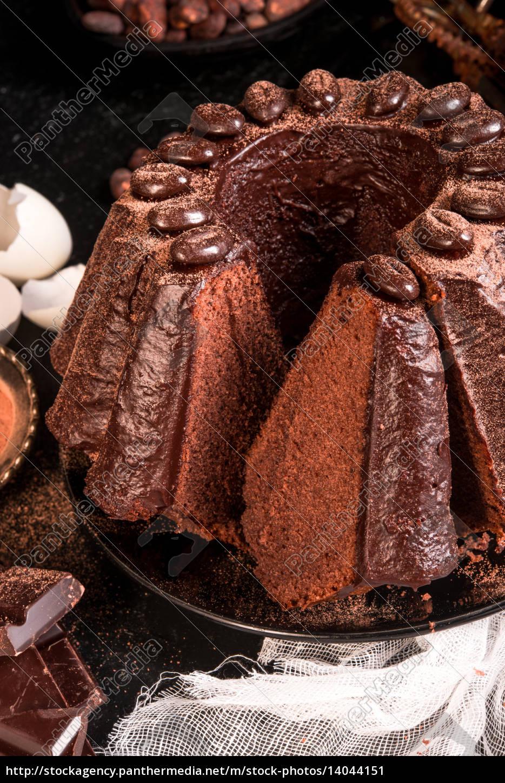 chocolate, cake - 14044151