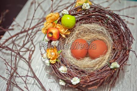 eggs, in, nest - 14044703