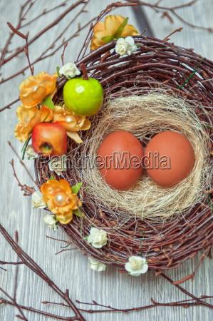 eggs, in, nest - 14044715