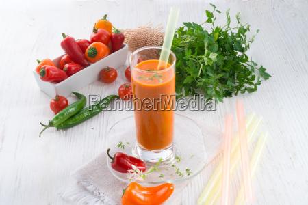red, paprika, smoothie - 14044089