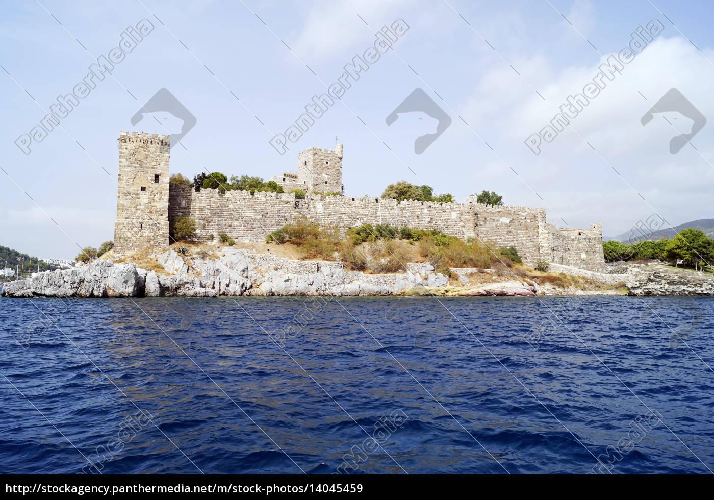 bodrum, castle - 14045459