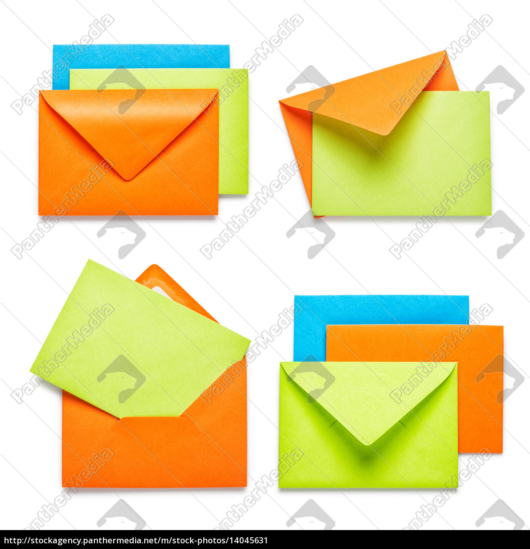 colorful, envelopes - 14045631