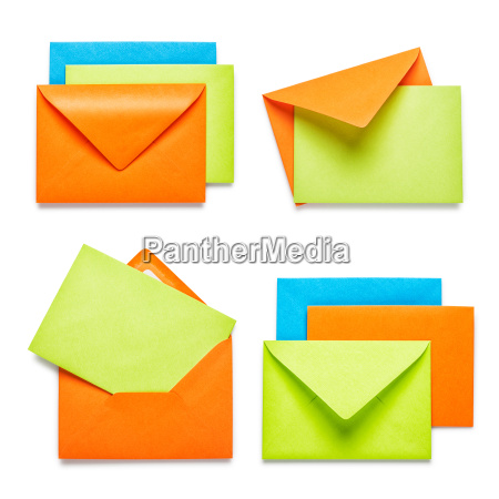 colorful, envelopes - 14045631