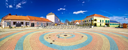 town, of, ludbreg, square, panoramic, view - 14045735