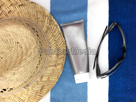 beach, towel - 14046757
