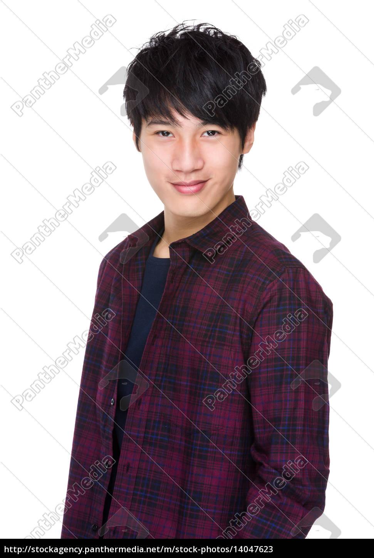 casual, man, portrait, smiling - 14047623