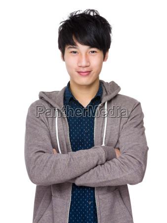 casual, man, portrait - 14047287