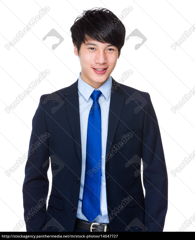 smart, asian, business, man - 14047727