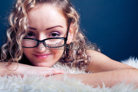 woman, in, glasses - 14047643