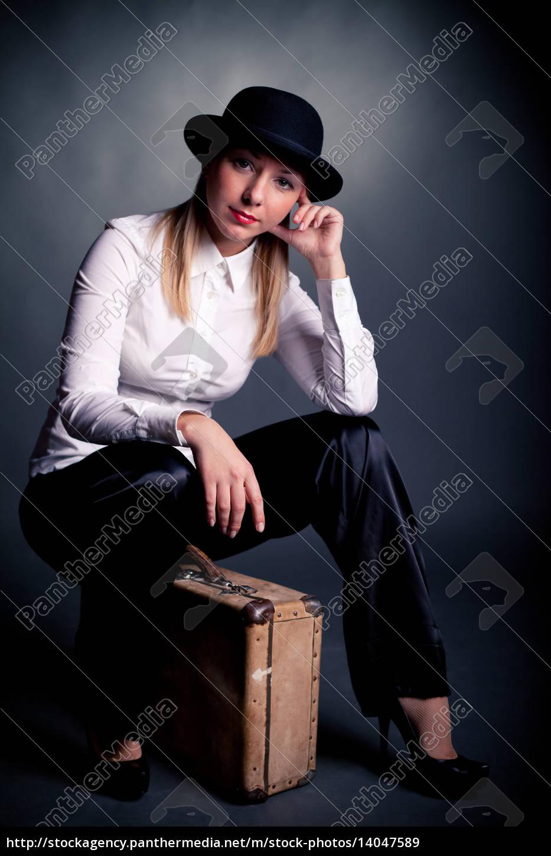 woman, women, fashion, portrait, elegance, black - 14047589