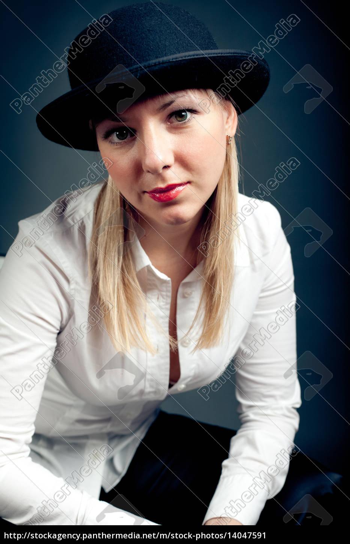 woman, women, fashion, portrait, elegance, black - 14047591