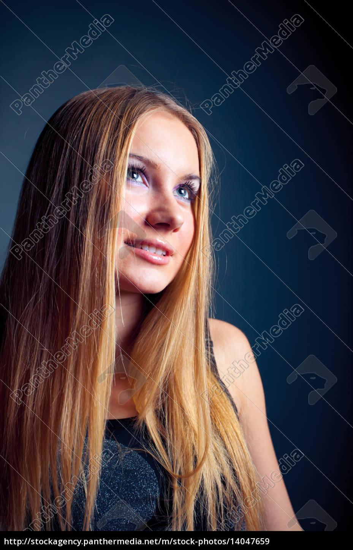 young, romance, woman - 14047659