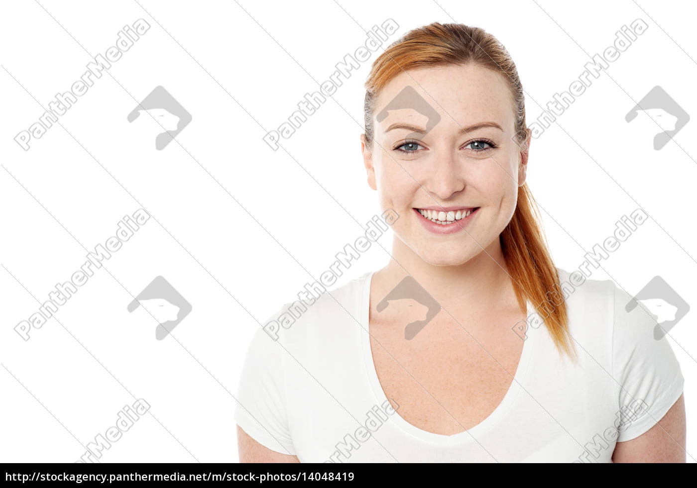 casual, pose, of, pretty, woman - 14048419