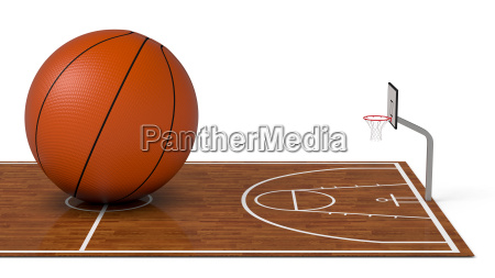 basketball, field - 14049547