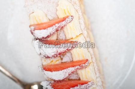 napoleon, strawberry, cake, dessert - 14049261