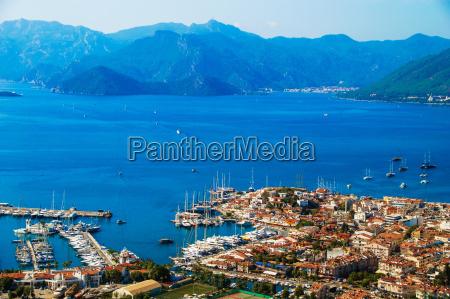 view, of, marmaris, harbor, on, turkish - 14049053