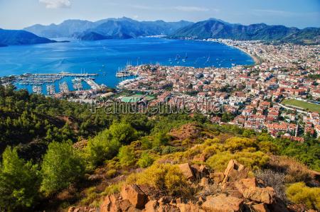 view, of, marmaris, harbor, on, turkish - 14049055