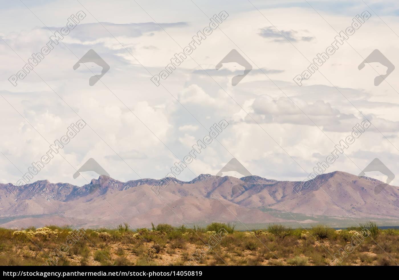 arizona, monsoon, clouds, above, mountains - 14050819