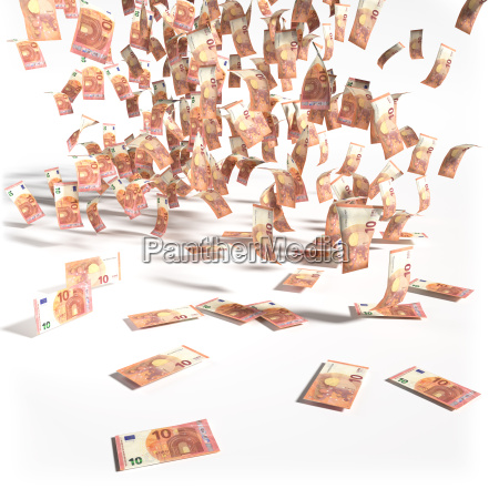 money, from, 10, euro, notes - 14050031