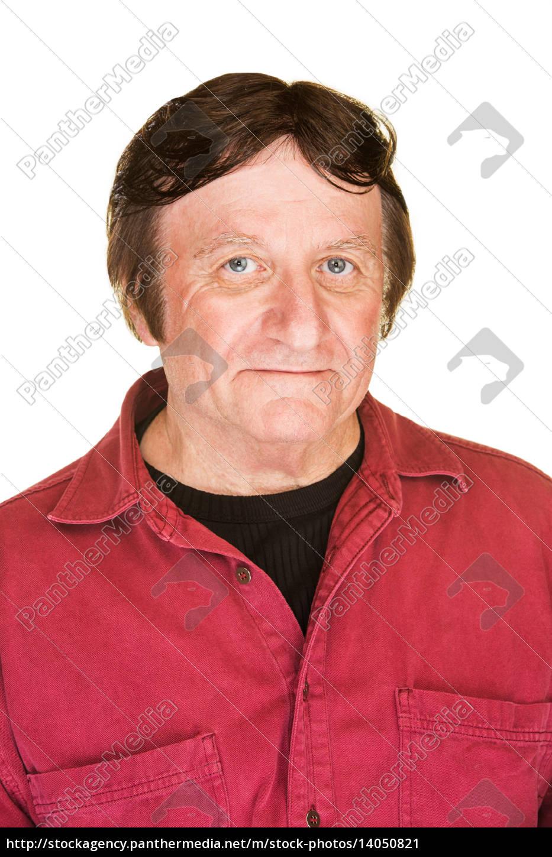 smiling, mature, man - 14050821