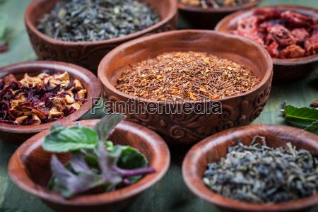 assortment, of, dry, tea - 14051395