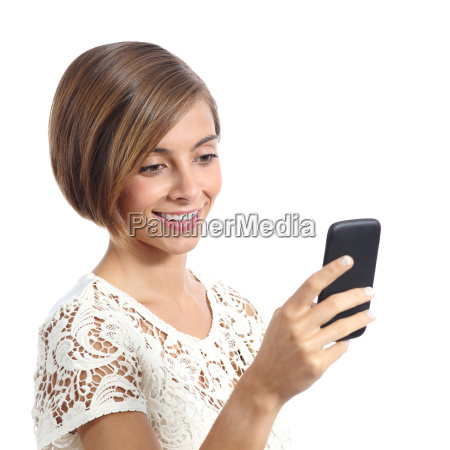 fashion, woman, using, a, smart, mobile - 14051719