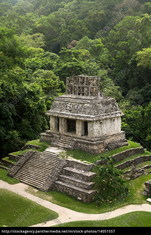 palenque, mayan, ruins, -, chiapas, - - 14051557
