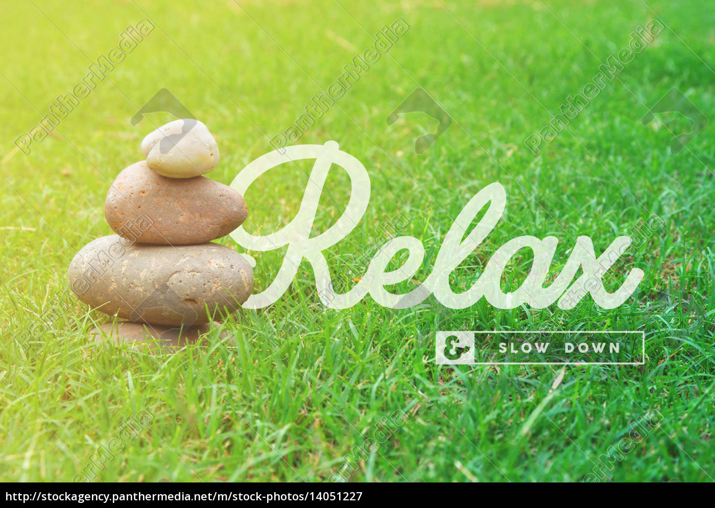relax, motivational, quote, concept, background - 14051227