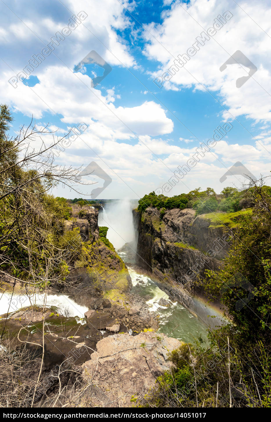 the, victoria, falls, with, mist, from - 14051017