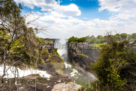 the, victoria, falls, with, mist, from - 14051019
