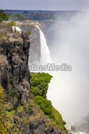 the, victoria, falls, with, mist, from - 14051045