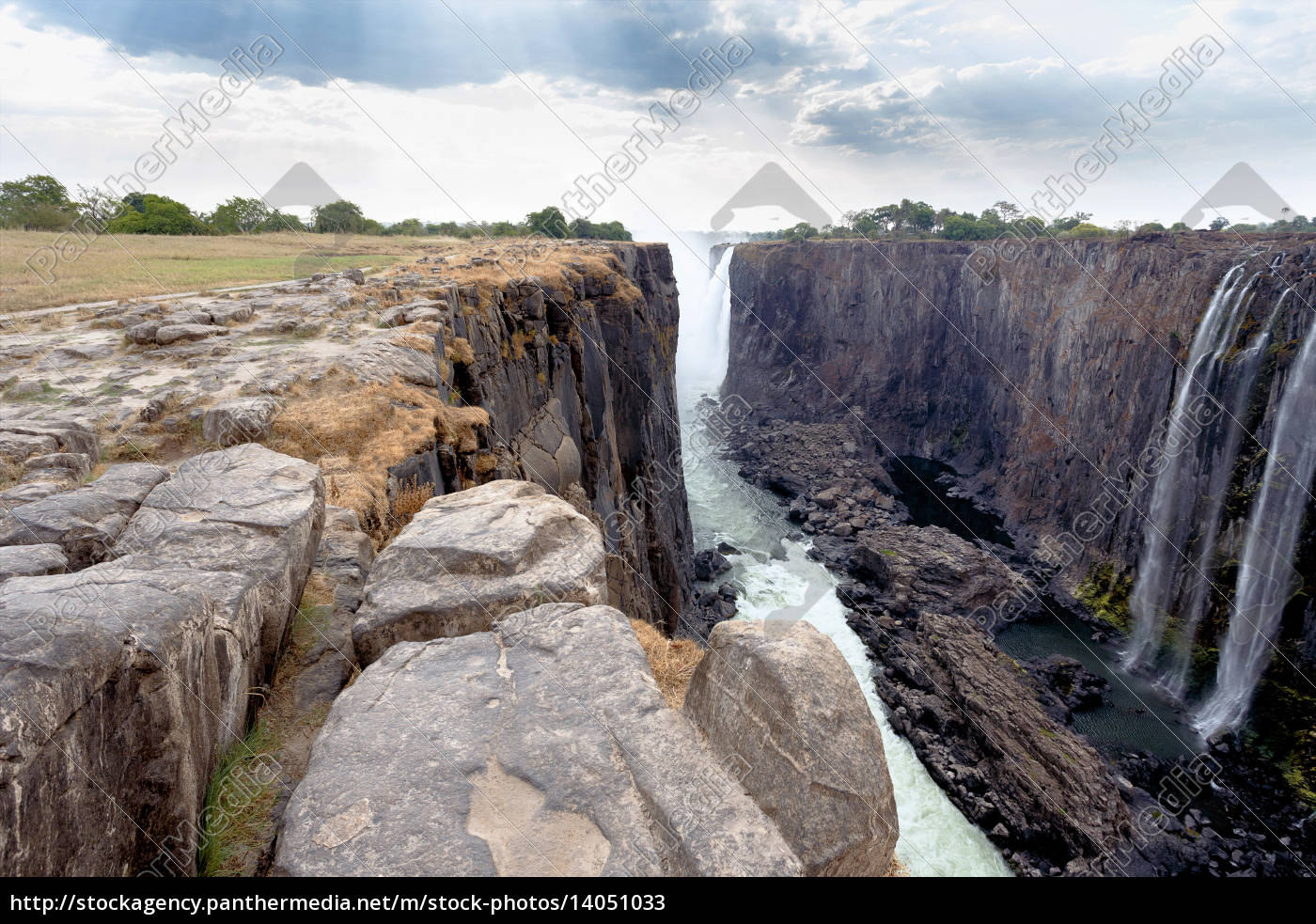 view, of, victoria, falls, canyon, - 14051033