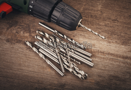 drill, and, set, of, drill, bits - 14052095