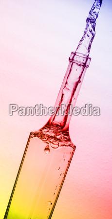 splashing, bottle - 14052531