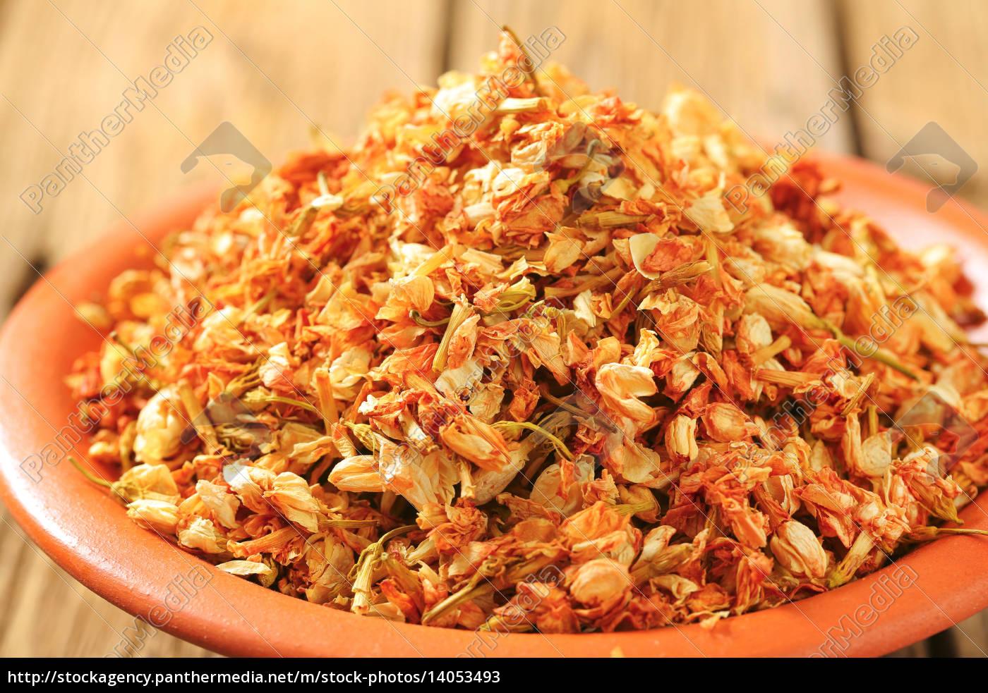 dried, jasmine, flowers - 14053493