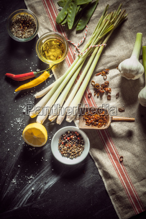 ingredients, for, making, a, tasty, marinade - 14053965