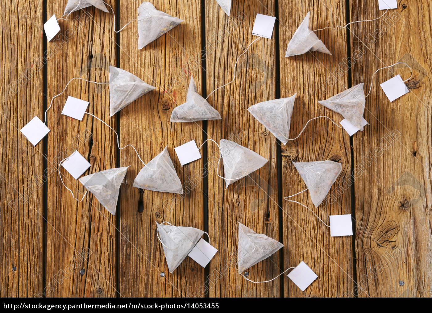 pyramid, tea, bags - 14053455