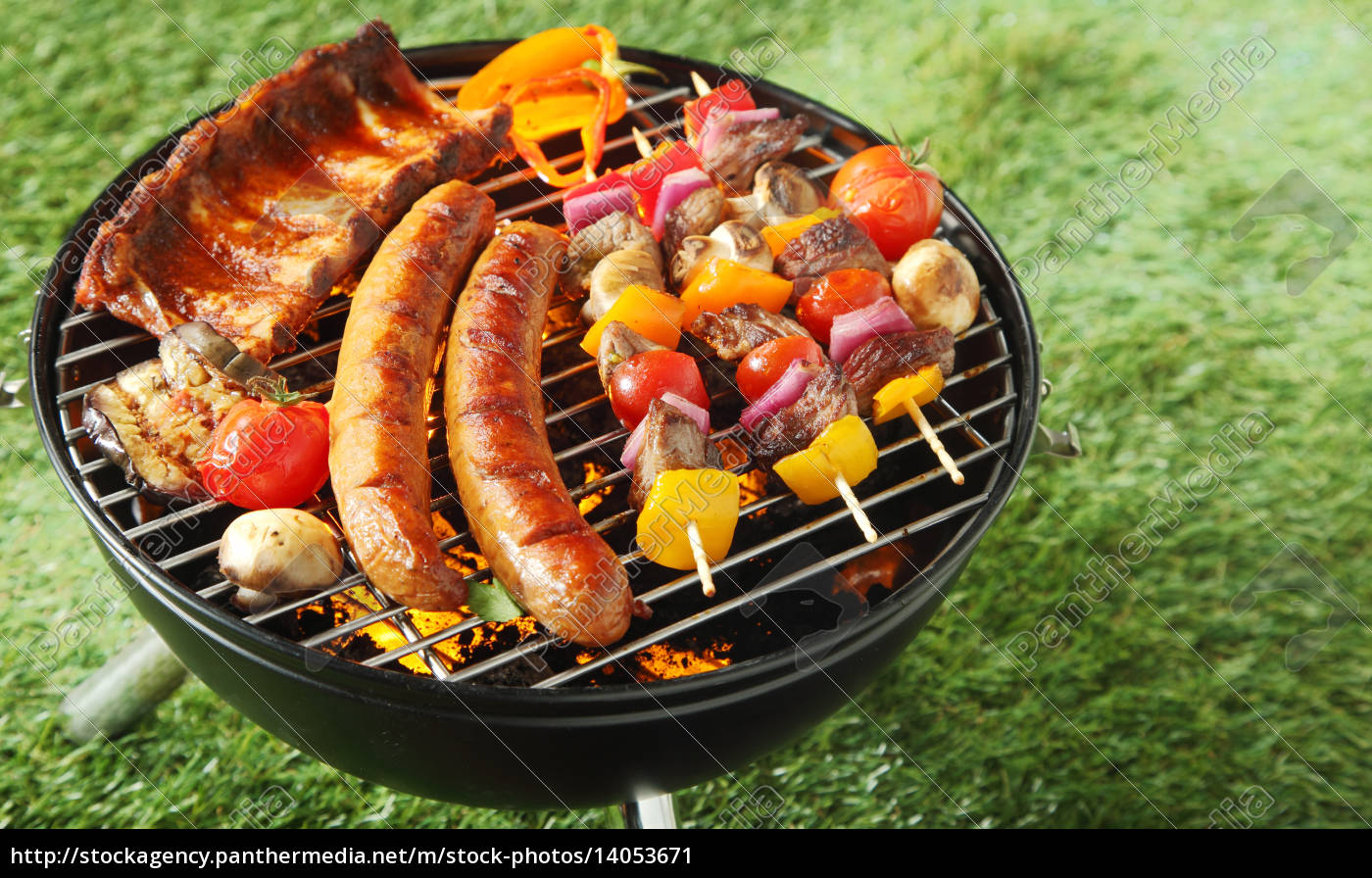 selection, of, meat, on, a, portable - 14053671