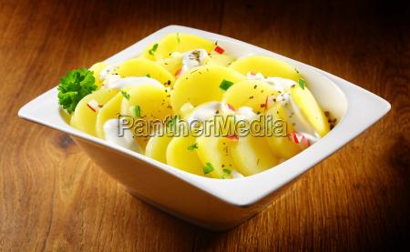 tasty, german, potato, salad, with, herbs - 14053753