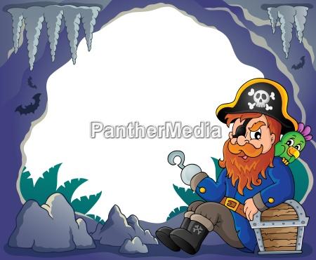 sitting, pirate, theme, image, 4 - 14054221