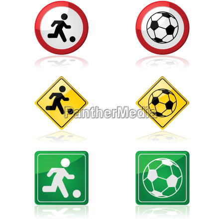 soccer, signs - 14055439