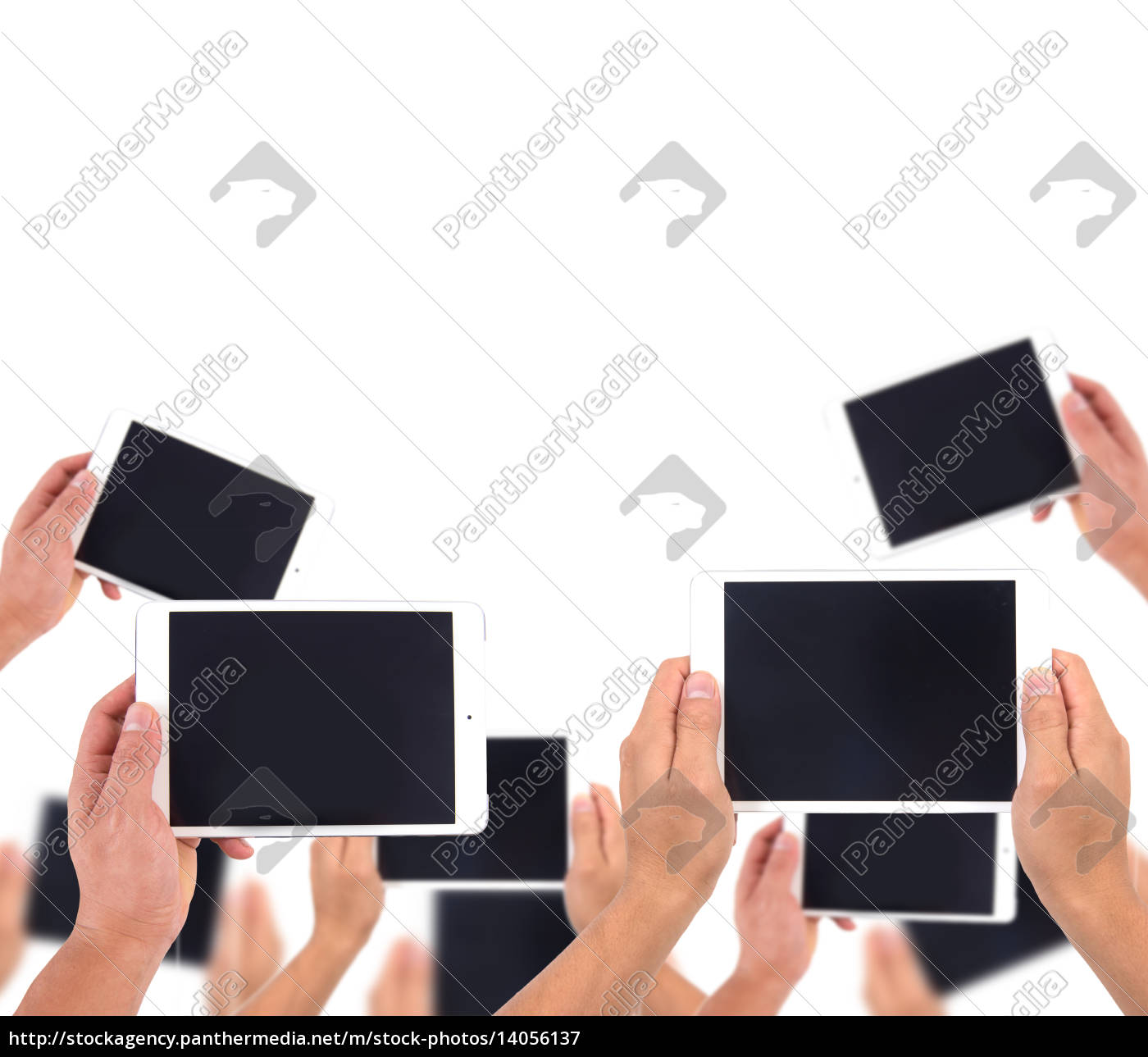 hand, hold, white, tablet - 14056137