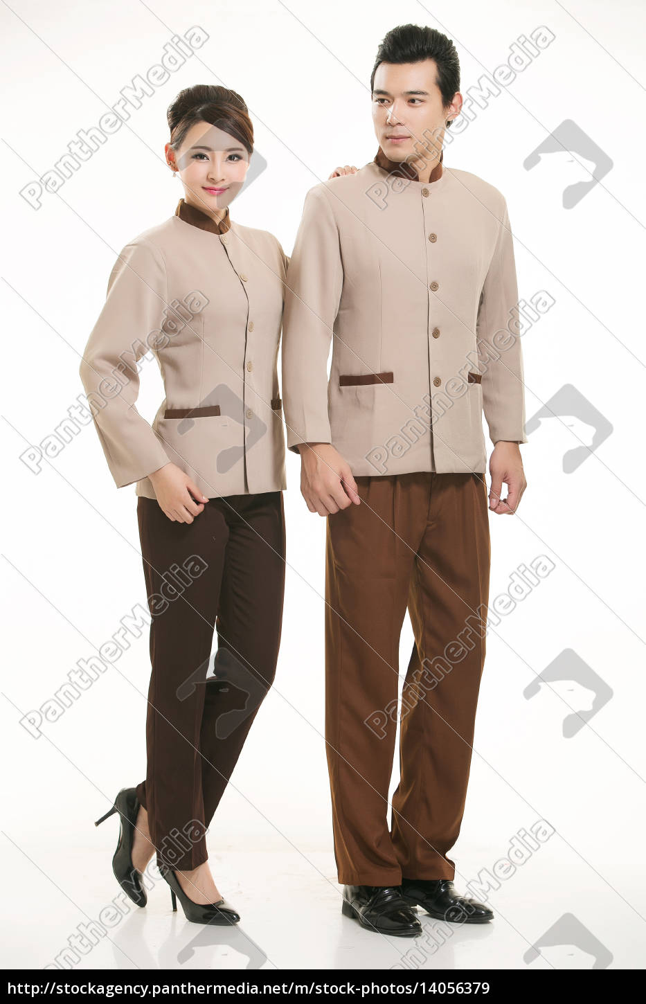 wear, clothing, occupation, chinese, waiters, in - 14056379