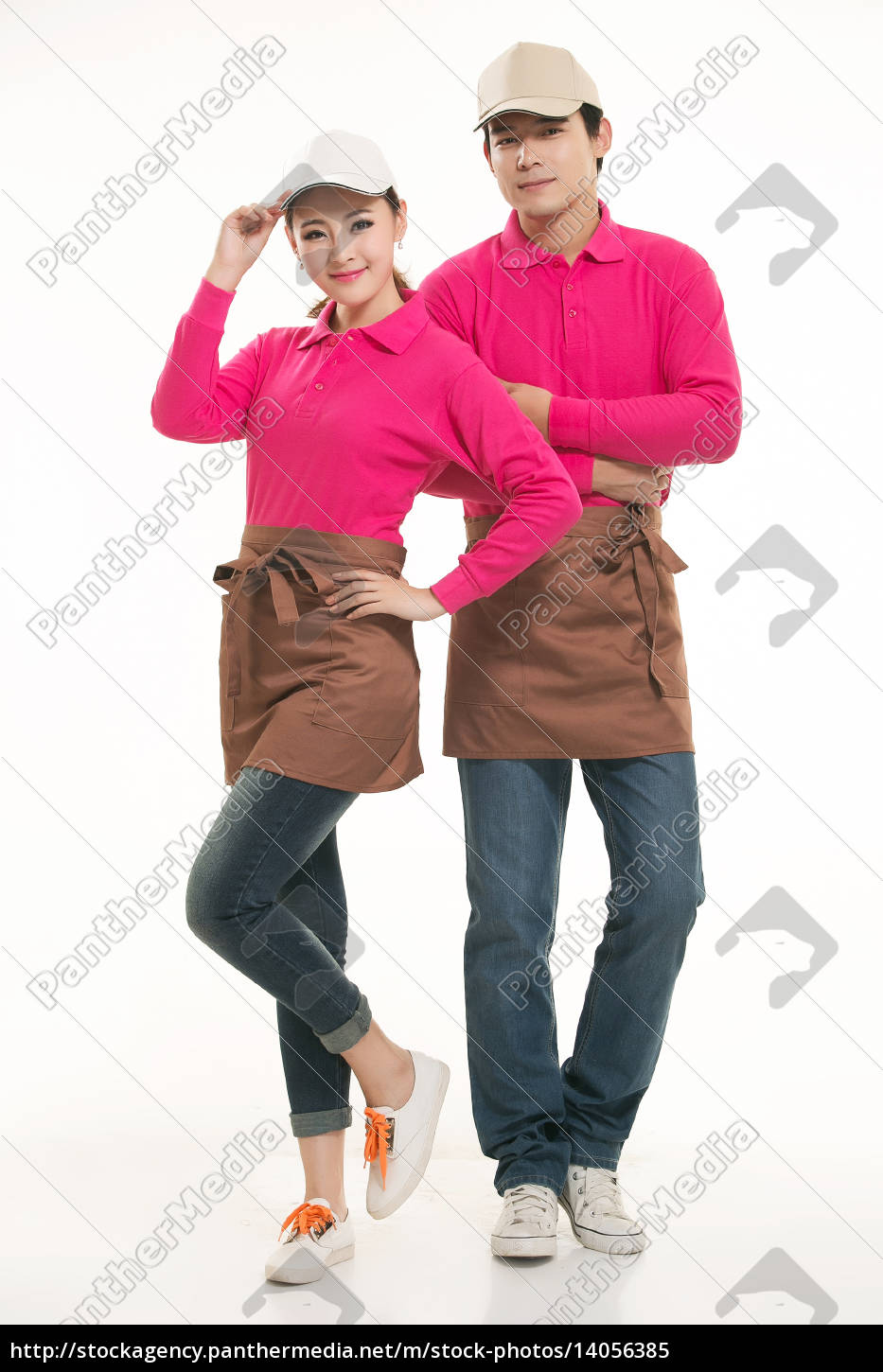 wear, clothing, occupation, chinese, waiters, in - 14056385